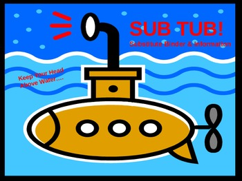 Sub Tub - Substitute Binder and Kit