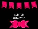 Sub Tub poster option 1