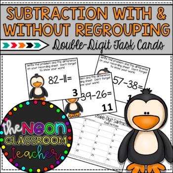 Sub-Zero Subtraction Roam the Room Activity