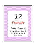 Sub * Pac for French Class Set 1