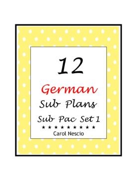 Sub * Pac for German Class Set 1