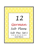 Sub Pac for German Class Set 1