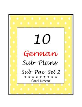Sub * Pac for German Class Set 2
