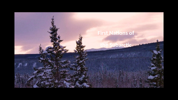 Subarctic First Nations Powerpoint / Native Studies Aborig