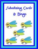 Subatizing Cards Activities and Bingo