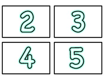 Subatizing Cards and Number Cards to 15