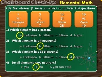 Subatomic Math Bellringer