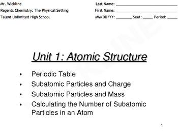 Subatomic Particles