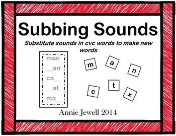 Word Ladders  Substitute Sounds to Make New Words