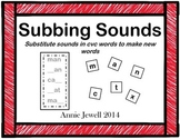 Word Ladders  Substitute Sounds to Make New Words Distance Learning