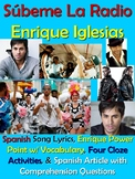 Subeme La Radio Song Lyrics and Spanish Activities - Enriq