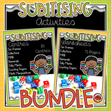 Subitising Activities BUNDLE (subitizing)