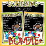 Subitising Activities BUNDLE (subitizing)