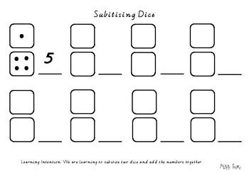 Subitising Dice