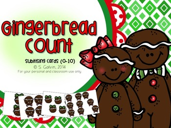 Subitising - Gingerbread Count (Numbers to 10)