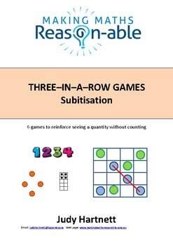 Subitising Kit: 6x 3-in-a-row games