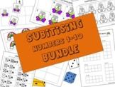 Subitising Numbers 1-10 BUNDLE