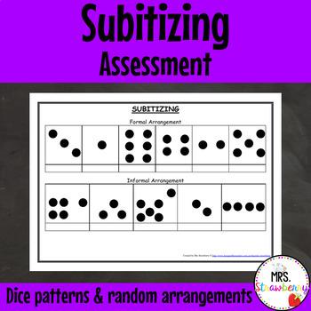 Subitizing/ Subitising Assessment
