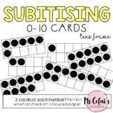 Subitising / Subitizing Cards (Tens Frame)