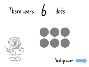 Subitizing (dot pattern) PowerPoint Quiz