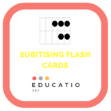 Subitising Flash cards - Mental Maths (Freebie)