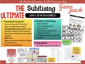 Ultimate Subitising & Number Sense Bundle