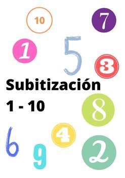Subitización 1 - 10