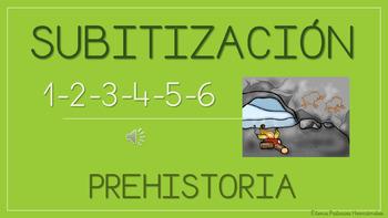 Subitización prehistoria Video / Subitization video - Prehistory (1-6)