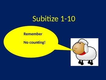 Subitize 1-10