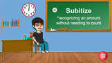 Subitize (1-5) Interactive Review Activity/Distance Learning Activity