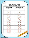 Subitize 1-6 Games and Worksheets