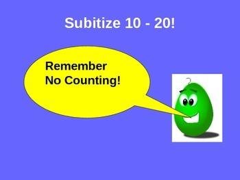 Subitize 10-20