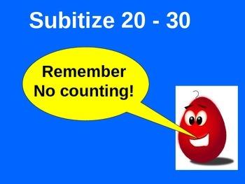 Subitize 20-30