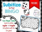 Subitize BINGO (two player game)