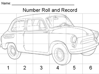 Subitize - Car Roll and Graph