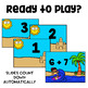 Subitizing with Domino - Addition Math Game - WipeOut - Fact Fluency