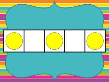Subitize Five Frames