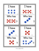 Subitize: I Have... Who Has...? Colored Dot Cards to 10 {22 Cards}