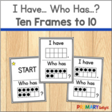 Subitize: I Have... Who Has...? Ten-Frames to 10