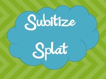 Subitize Splat 0-8