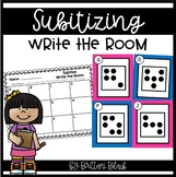Subitizing Write the Room | Subitizing Activities