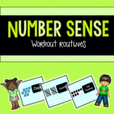 Subitize and Count Number Sense Workout  [ten frames, tally marks, base ten]