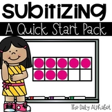 Subitize for Number Sense (A Quick Start Pack)