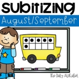 Subitize for Number Sense (August/September)