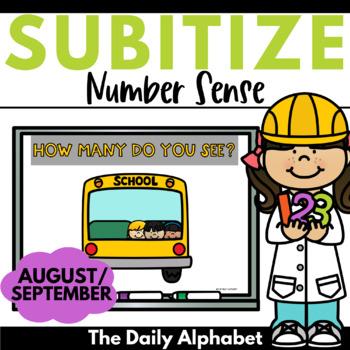 Subitize for Number Sense (August/September)
