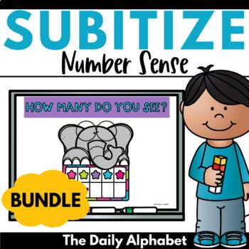 Subitize for Number Sense (Growing Bundle)