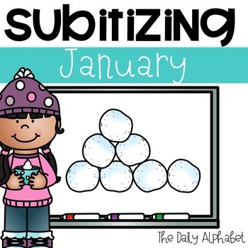 Subitize for Number Sense (January)