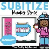 Subitize for Number Sense (January)   Winter Subitizing