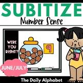 Subitize for Number Sense (June/July)