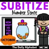 Subitize for Number Sense (October)